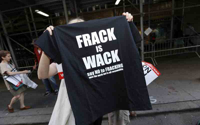 shale gas fracking italia